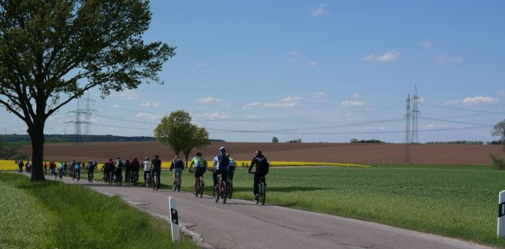 Viele Teilnehmer zur Rad- und Wandertour am 1. Mai 2018