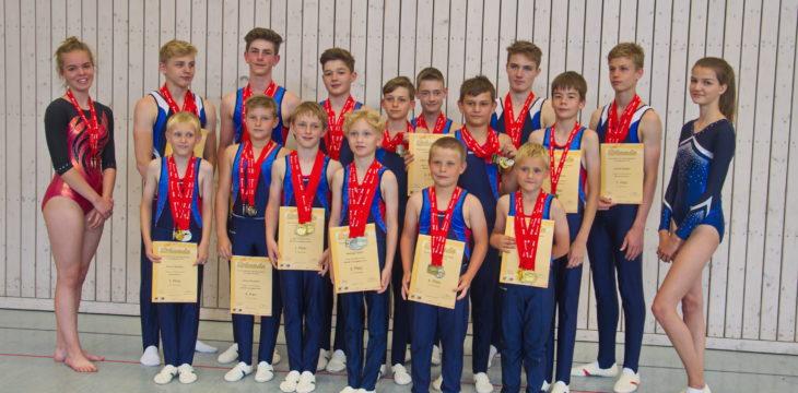 100 Medaillen bei den Kreis-Kinder- und Jugendsportspielen