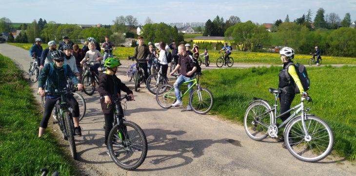 Rad- und Wandertour am 1. Mai 2019